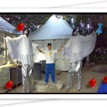 Stilt Walker for parties