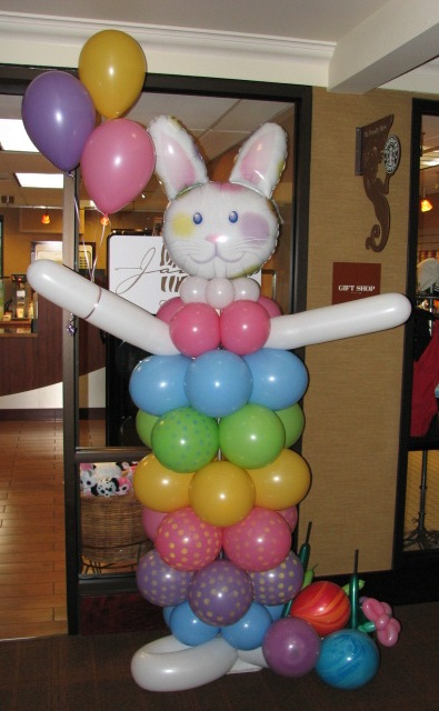Bunny Balloon Decoration
