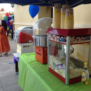sweet candy machine