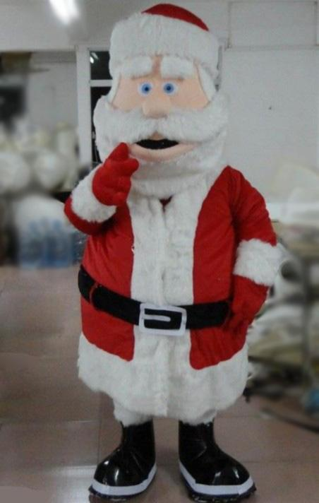 Santa Claus Cartoon Mascots