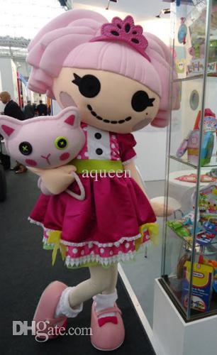 lalaloopsy Cartoon Mascots