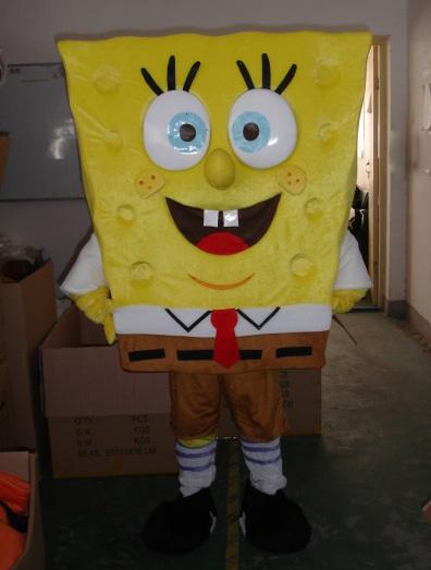 spongbob Cartoon Mascots rental