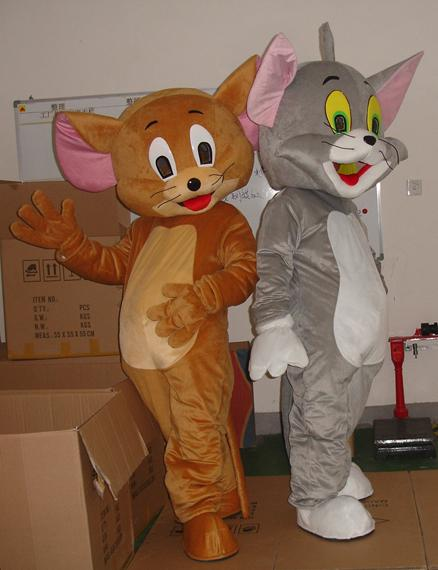 tom and jerry Cartoon Mascots